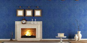 Синий цвет в интерьере: учимся не бояться цветовых экспериментов